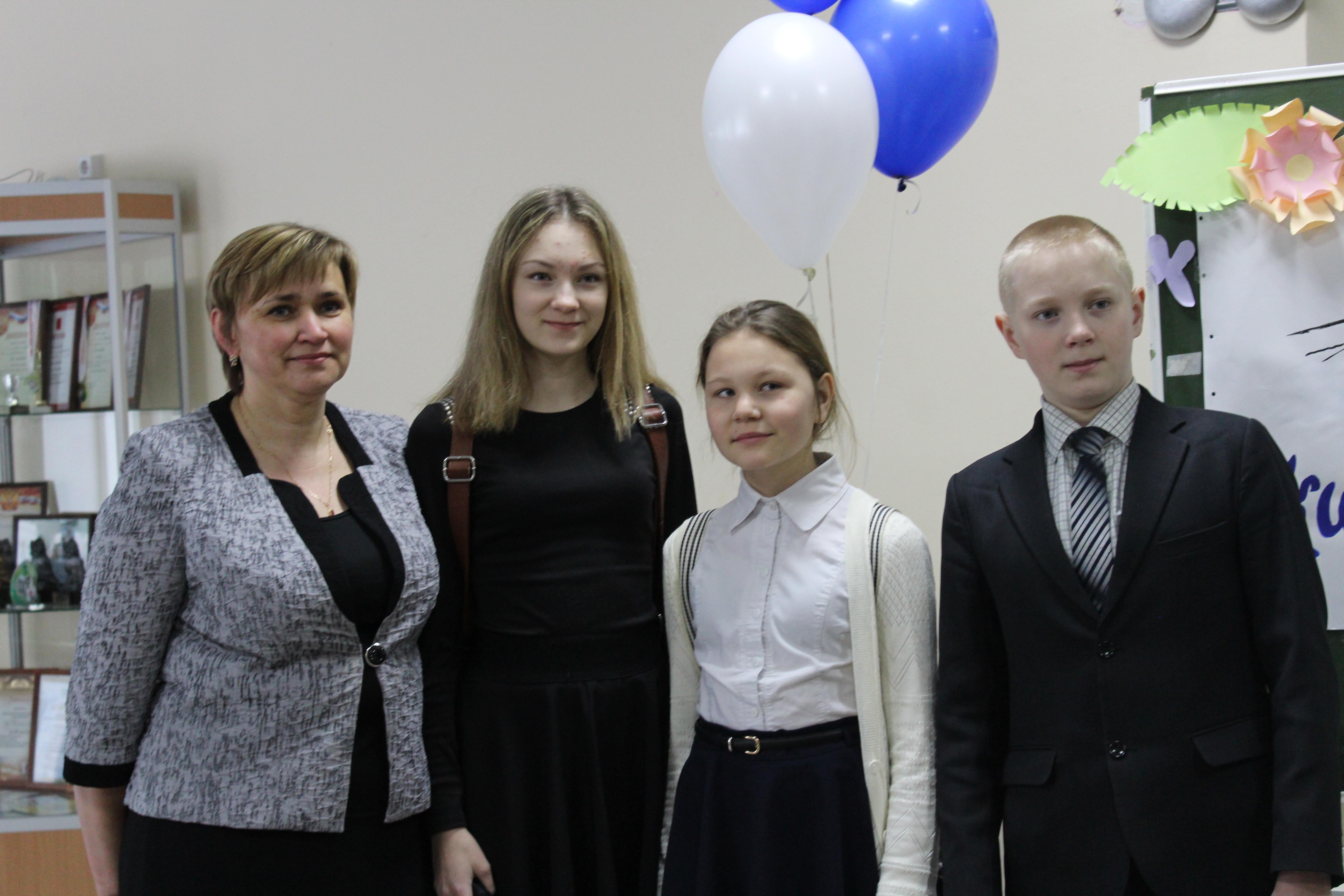 делегация Конзаводской шк
